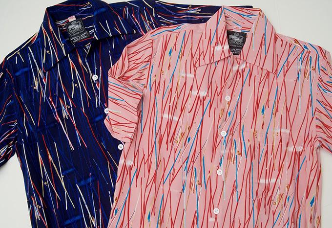 ハワイのメーカーとコラボしてできたアロハシャツ